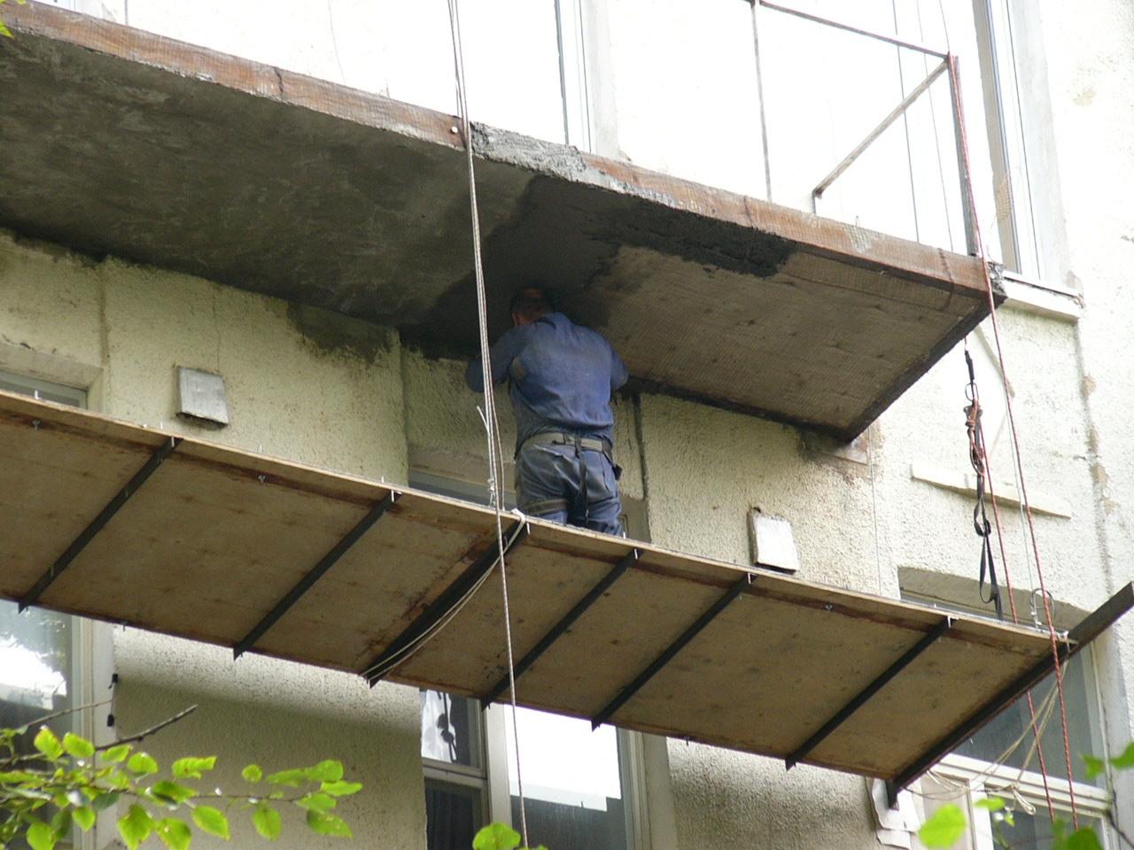 Как сделать подвесной балкон своими руками.