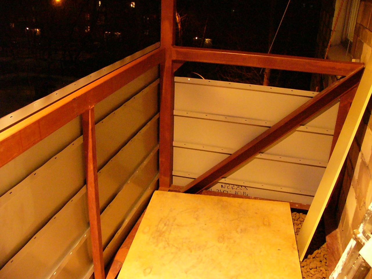 Укрепить плиту на балконе в панельном доме..